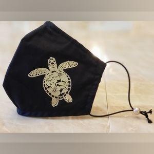 ADULT Hibiscus Turtle mask